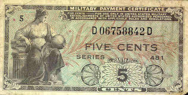 This was a time when 5 cents had value