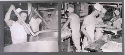 Preparing meals for over 1500 hungry sailors was a major operation.