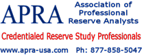 APRA is the world\'s trade organization for reserve study professionals.